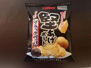 定番!宅飲みおつまみ菓子①「堅あげポテト」