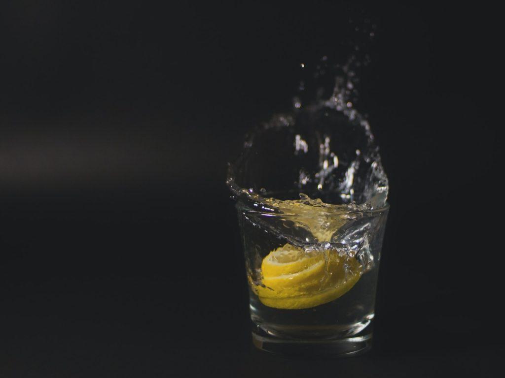 基本のレモンサワーの作り方